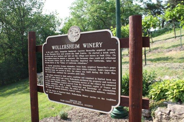 Wollersheim historical marker